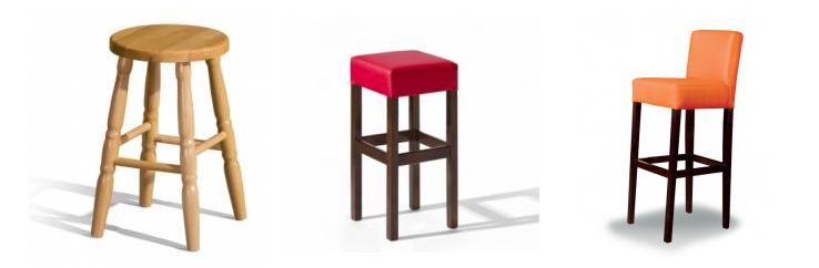 Židle barové nejen do kuchyně