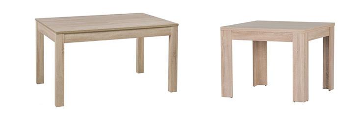 Dub sonoma - jídelní stůl