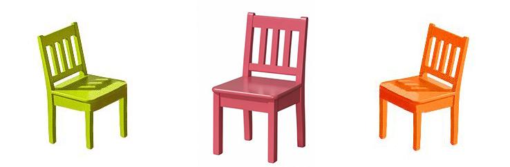 Židle pro děti do kuchyní