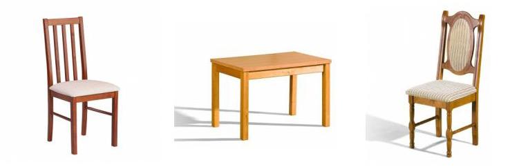 Stoly a židle do jídelen